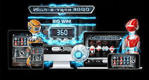 Wild-o-tron 3000 online slot casino game